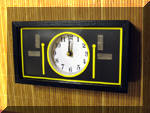 The first completed fast clock / train order signal panel.  I am very pleased with how it is has come out.