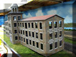 Nearly completed model of the Bartram & Fanton Co.