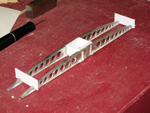All four bridge girders glued up and drying