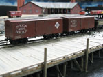 A pair of NYC&HR Boxcars for Brian Bollinger