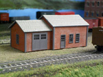 The Motrak Models MOW Shed