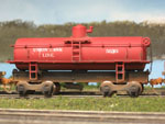 A few UTL tank cars weathered by my friend Lenny Harlos