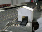 A possible new coal shed for servicing locomotives at Wilson Point.