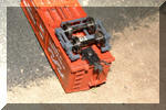 Modifications to Alkem wood-beam truck for Kadee coupler box install